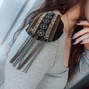 ASOS Grey Midi Dress